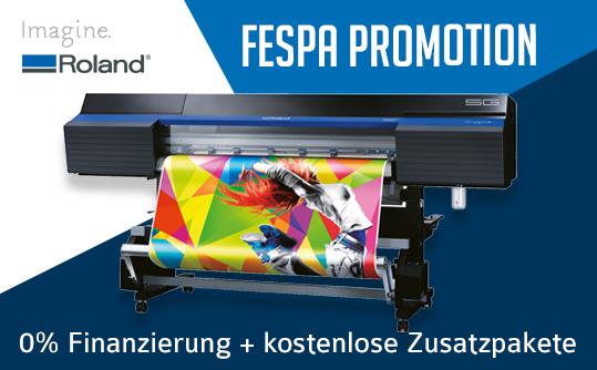 Roland FESPA Promotion 2018!